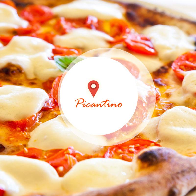 Пицария Пикантино изглед отвън